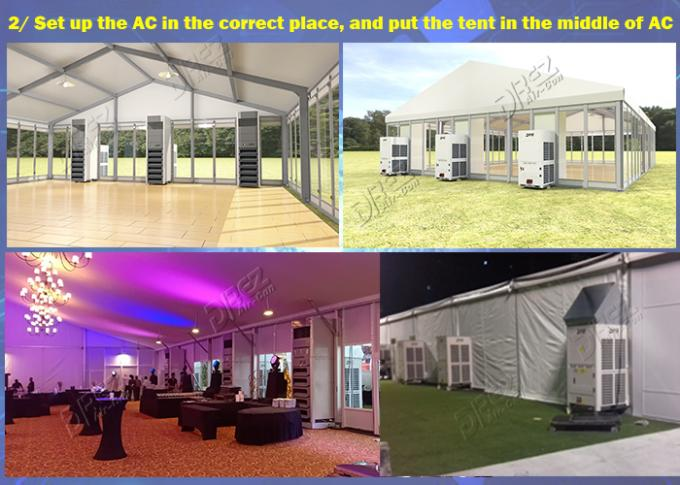 Drez 36HP Commercial Packaged Tent Air Conditioner Cooling & Heating For Outdoor Wedding