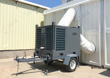 20 Ton Trailer Mounted Air Conditioner Tent Halls Use With Digital Control Panel