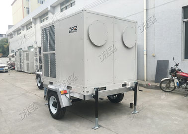 China Portable 8 Ton Trailer Air Conditioner , 10HP Self Contained Dome Tent Cooling System supplier