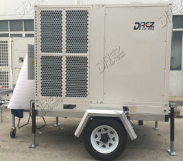10HP 29KW Trailer Mounted Air Conditioner Easy Transporting Cooling Packaged Rooftop Type
