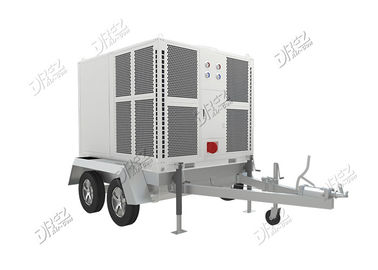 China Horizontal Ducted Trailer Mounted Air Conditioner Portable For Luxury Wedding Tent supplier