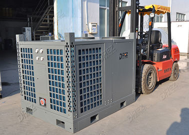China 72.5KW Ducted Trailer Mounted Air Conditioner , 25HP Portable Outdoor AC Unit supplier