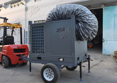 10HP Mobile Trailer AC Unit Anti Corrosion For Industrial Warehouse Cooling