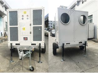 Large Trailer Mounted Mobile Ducted Tent Air Conditioner 165600BTU CE SASO ISO