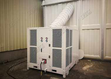 Small Capacity 10HP Packaged Air Conditioner With Trailer For Commercial Cooling System