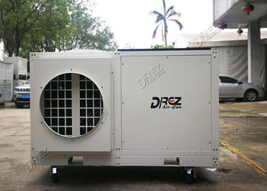 China 3 Phase Commercial Tent Air Conditioner 10 Ton Portable AC Unit 110000btu supplier