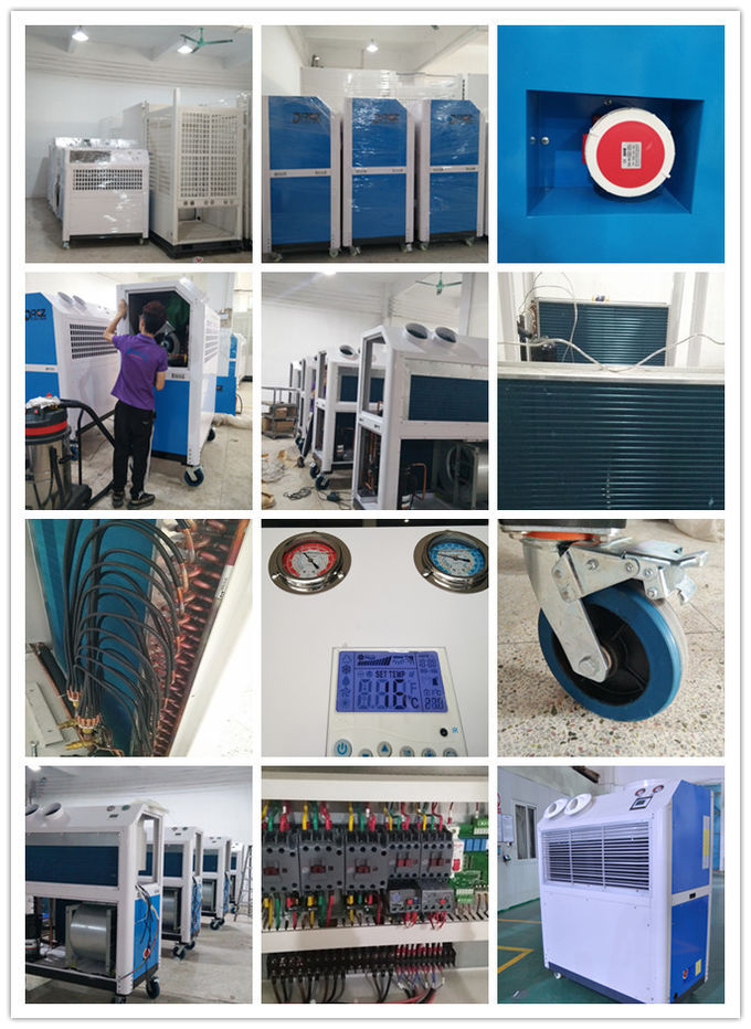 14.5KW Indoor Aircon Unit 5HP 4 Ton Temporary Emergency Cooling Usage